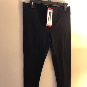 Black stretch pants NWT